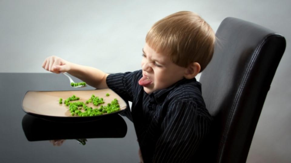 Когато децата отказват да хапват зеленчуци