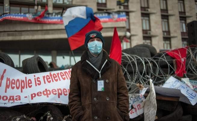 Сражения в два града в Украйна