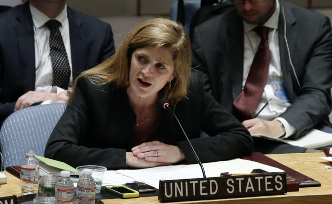 Представителят на САЩ в ООН Саманта Пауър