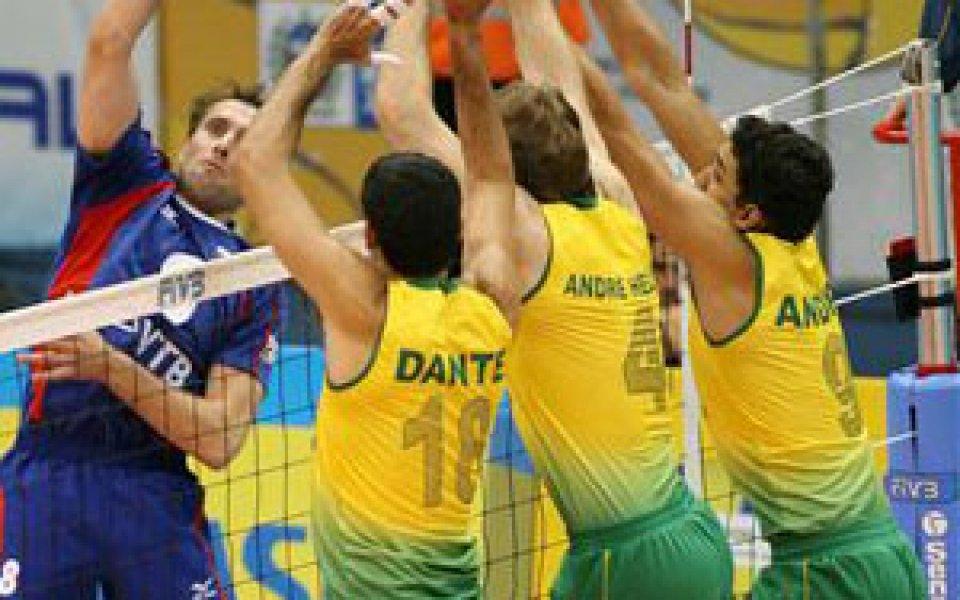 Бразилия смаза Китай - 3:0 гейма