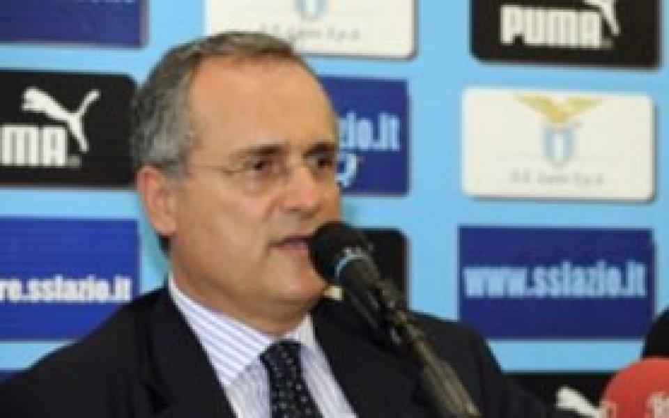 Президентът на Лацио заплашен от 20 месеца затвор