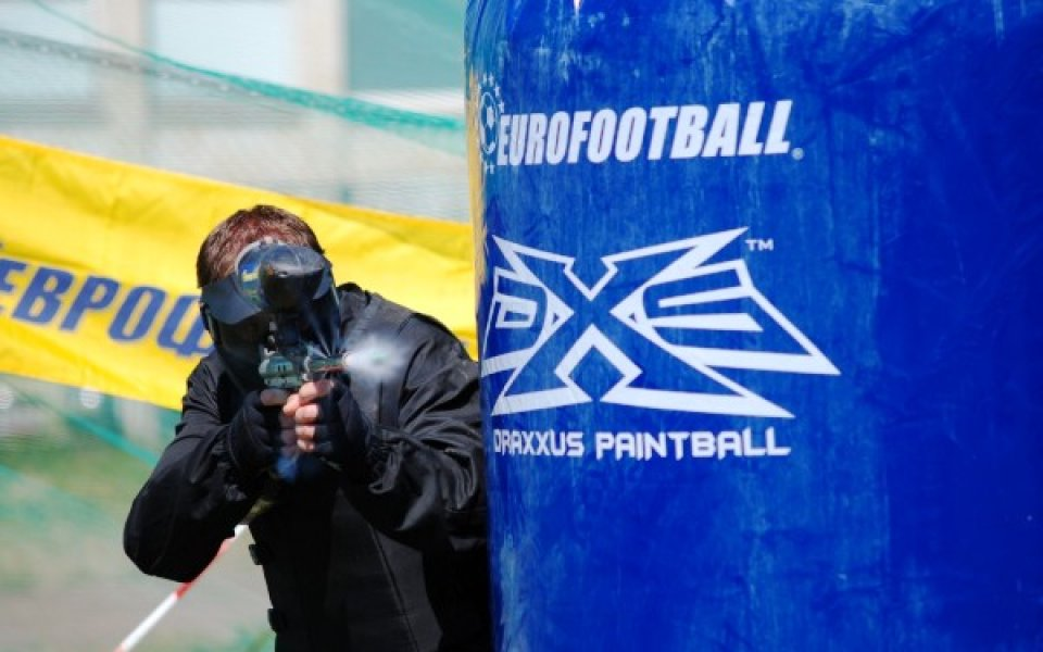 """""""Пейнтхаус 2"""" спечели петият юбилеен турнир по пейнтбол за купата на """"Еврофутбол"""