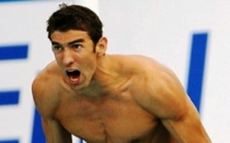 Фелпс с титла и световен рекорд на 100 метра бътерфлай