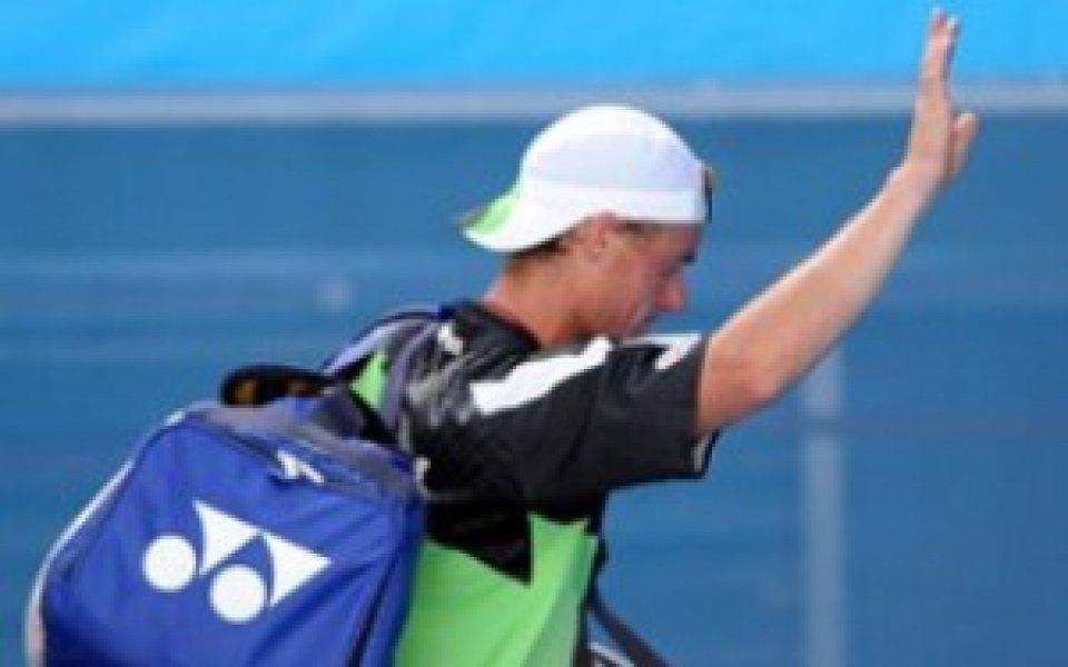 Лейтън Хюит стартира с победа на турнира в Синсинати