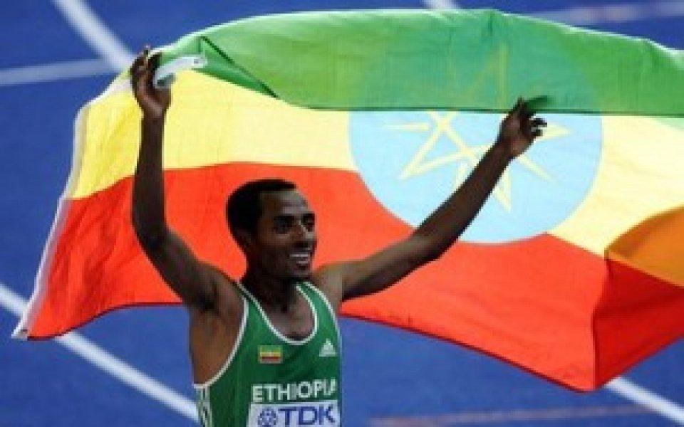 Кенениса Бекеле стана световен шампион в бягането на 5000 метра
