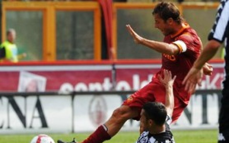 Рома обърна Сиена при дебюта на Раниери