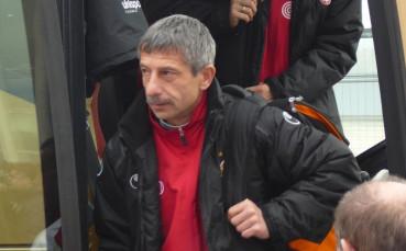 Локо София остана без треньор, Ради Здравков си тръгна