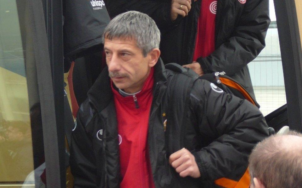 Ръководството на Локомотив София няма да поднови изтичащия контракт на