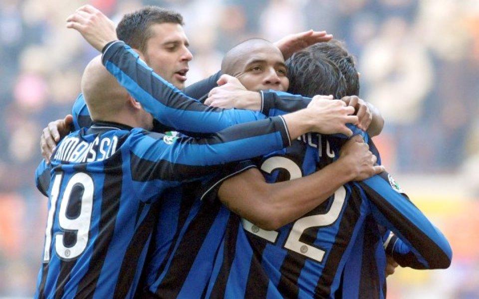 Интер мачка, а Милан се дъни в Италия