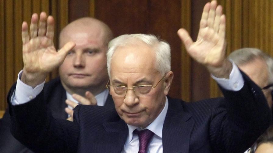Бившият украински премиер Микола  Азаров