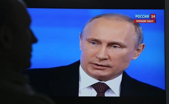 Владимир Путин: Глупости, наши военни не участват в събитията в Украйна
