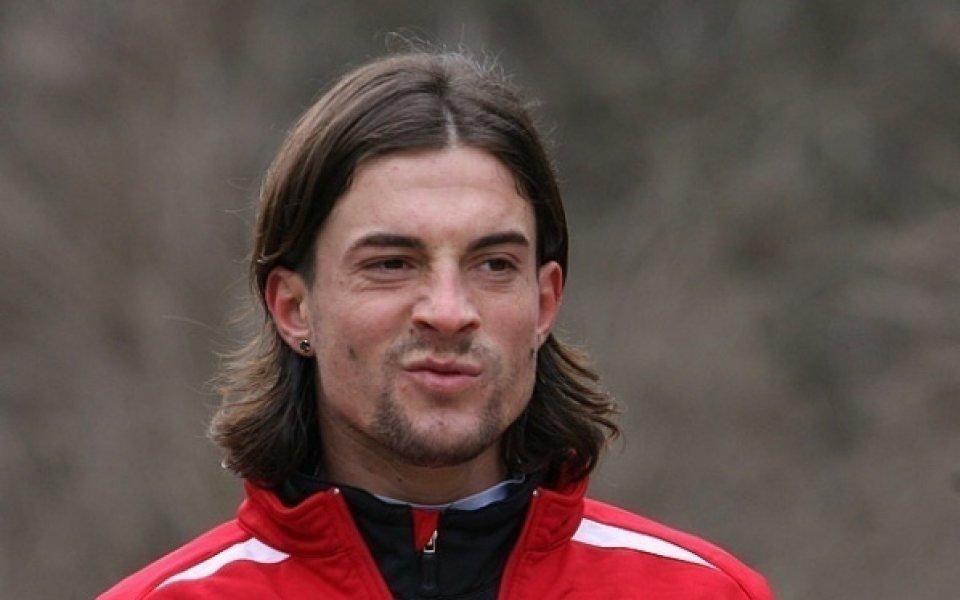 Играл в ЦСКА и Ботев Пловдив се забавлява по време на...