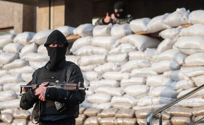 Сепаратистки лидер от Източна Украйна поиска намесата на Русия