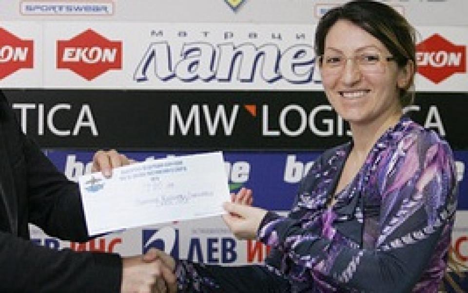 Станилия Стаменова спечели сребро на 200 метра едноместно кану за Световната купа