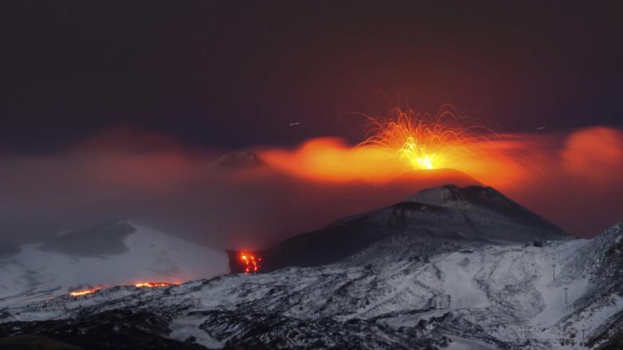 Изригване на вулкана Етна