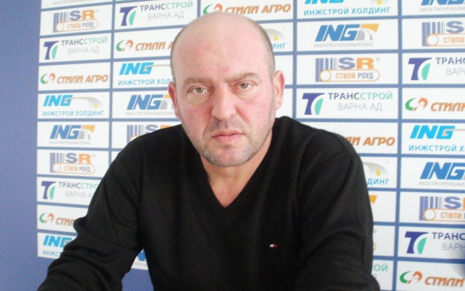 Живко Великов: За да има футбол, трябва да има и условия