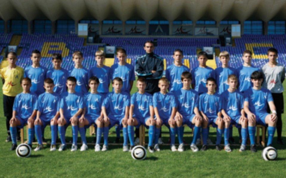 Левски на полуфинал при децата, Алекс Боримиров с хеттрик срещу Черно море