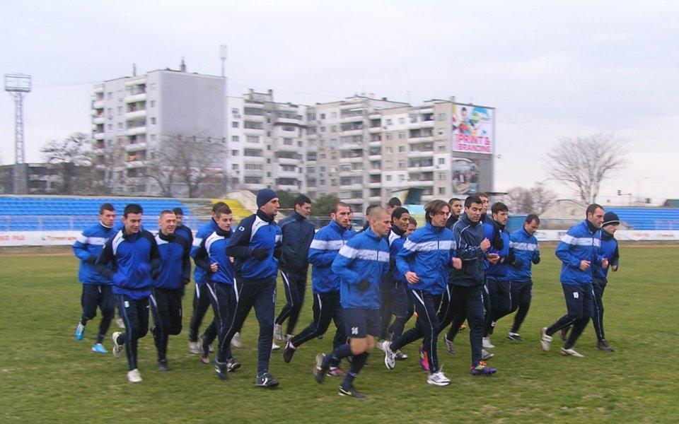 Георги Бижев започна подготовка със Спартак
