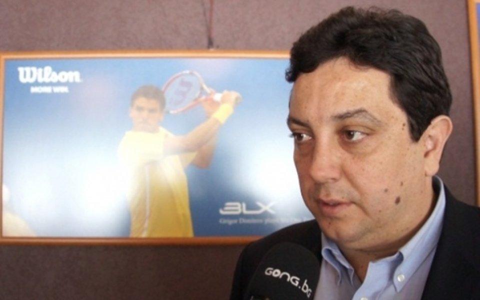 С пълно одобрение: Преизбраха Стефан Цветков за шеф на бг-тениса