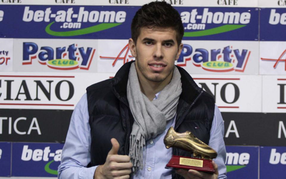 Жоао Силва с първа награда в Левски