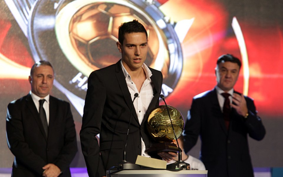 ВИДЕО: Георги Миланов стана най-младият Футболист на годината, №1 е и в А група