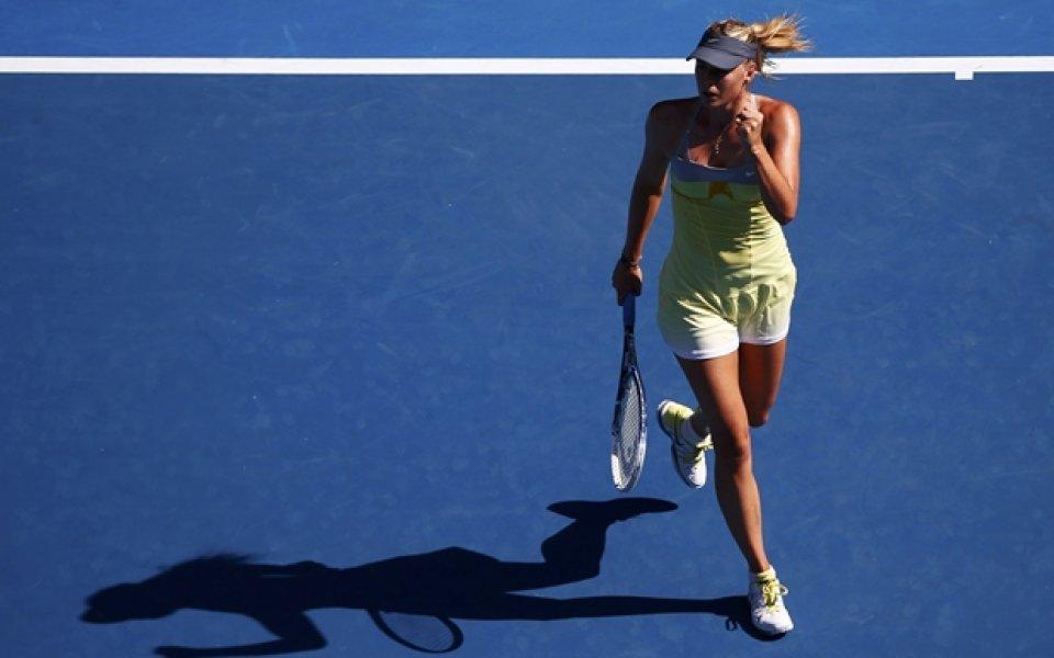 Шарапова-Макарова е първият 1/4-финал при дамите в Мелбърн