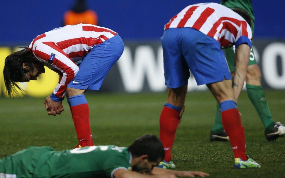 ВИДЕО: Атлетико сдаде титлата в Лига Европа, Рубин отстрани испанците