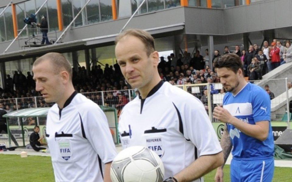 Николай Йорданов ще свири плейофа за Европа Черно море - Локо Пд