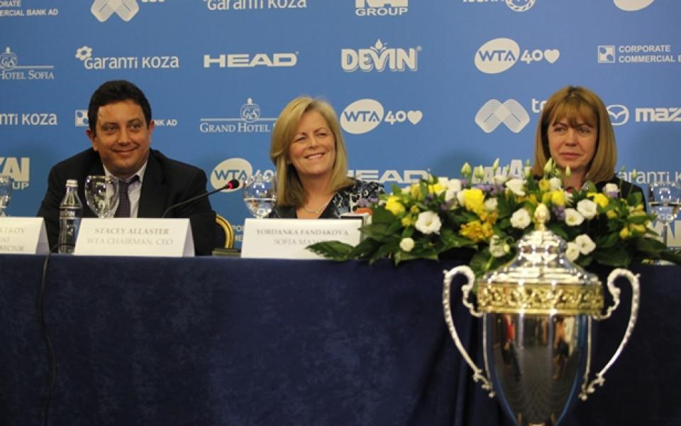 Стейси Аластър: Турнирът в София е сред върховите събития в календара на WTA