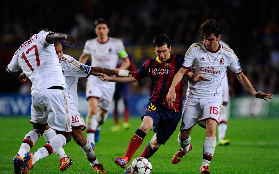Сапата: Разликата между Барселона и Милан бе минимална