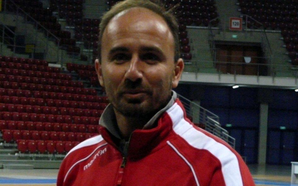 Треньорът на Лукойл Галанис: Мотивирани сме, това е голям шанс