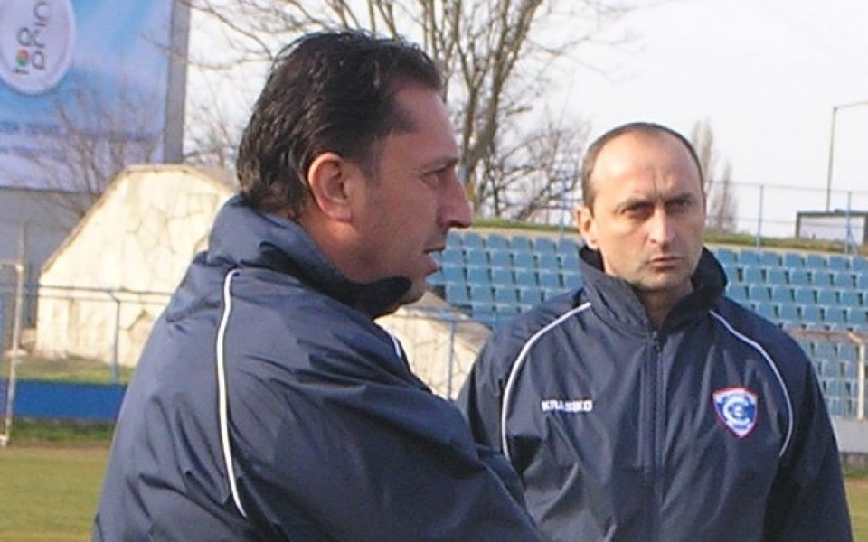 Треньорът на вратарите в Спартак Вн: Денчев и Банков са страхотни момчета