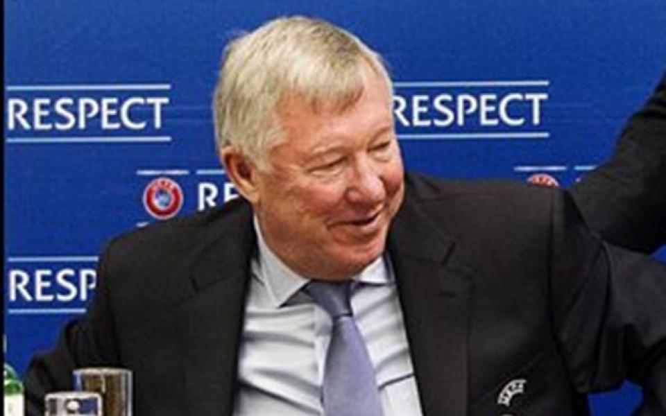 Фенска шега: Фъргюсън управлявал самолета с посланието към Роналдо