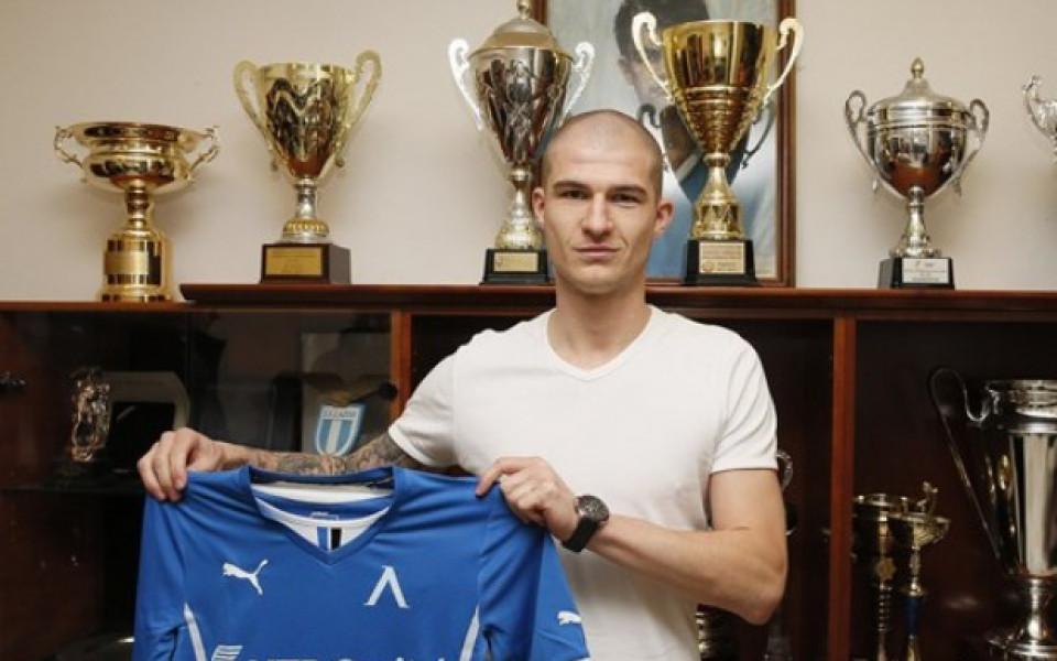 Павел Чмовш подписа за две години и половина с Левски
