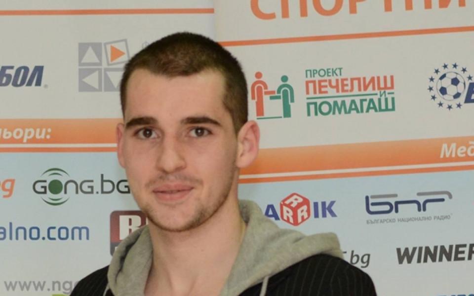 """Спортният талант на """"Еврофутбол"""" Тодор Георгиев със злато в Белград"""