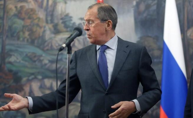 "Сергей Лавров: Киев ще отговаря за ""кървавите престъпления"""