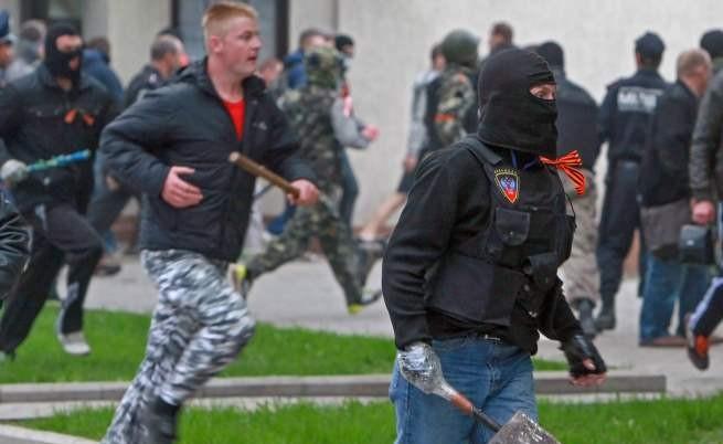 Бухалки, боксове и ранени в Донецк