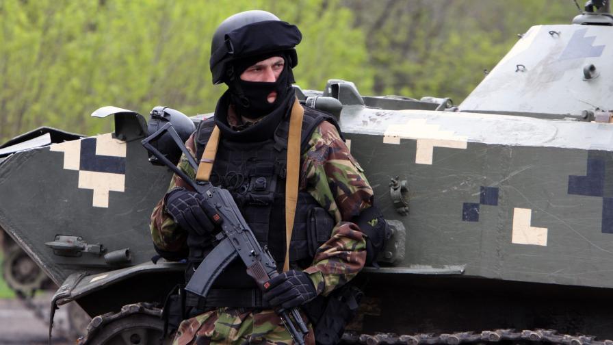 Украинските сили си върнаха Славянск