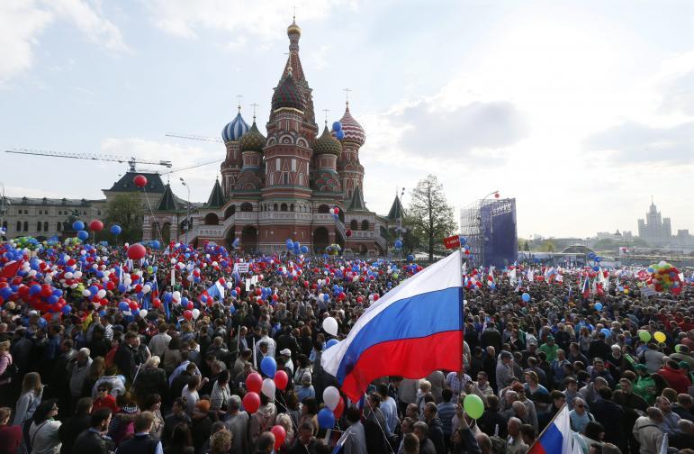 1 май Москва