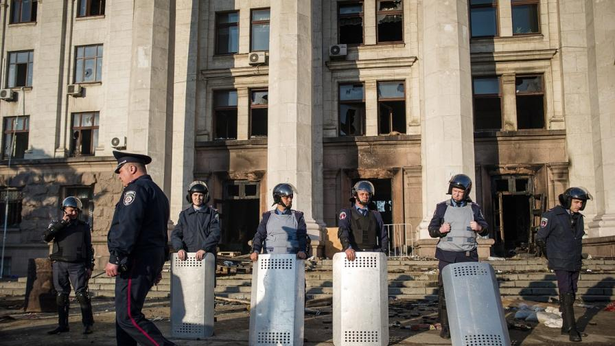 Тридневен траур в Одеса след кръвопролитията