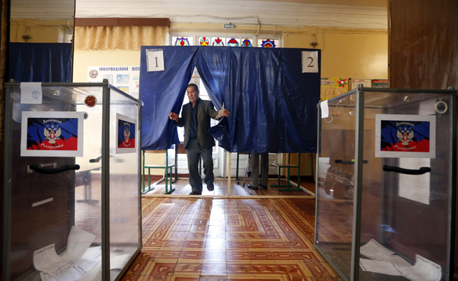 Днес протича референдумът в Донецка и Луганска област в Източна Украйна