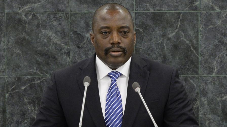 Президентът на Конго Джоузеф Кабила