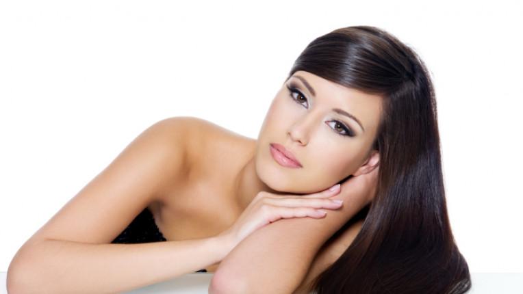 коса жена грижа външен вид боядисване опашка