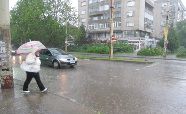През последната седмица поройни дъждове валяха на много места в страната
