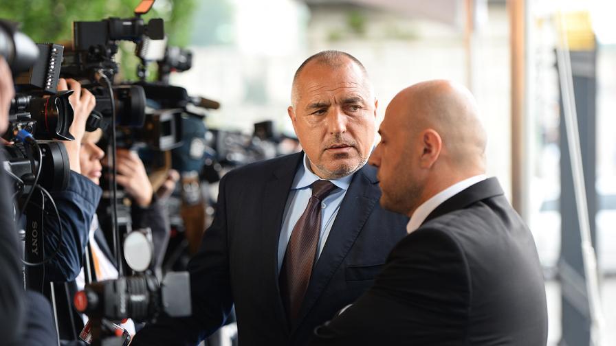 """Бойко Борисов: Важното е утрешният ден да бъде последен за кабинета """"Орешарски"""""""