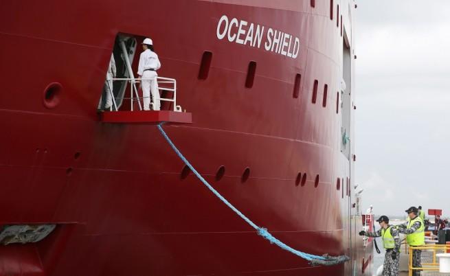 Австралийският кораб Оушън шийлд