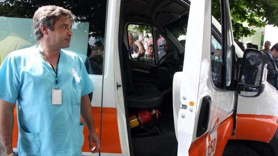"""Протестите на медиците от """"Спешна помощ"""" продължават"""