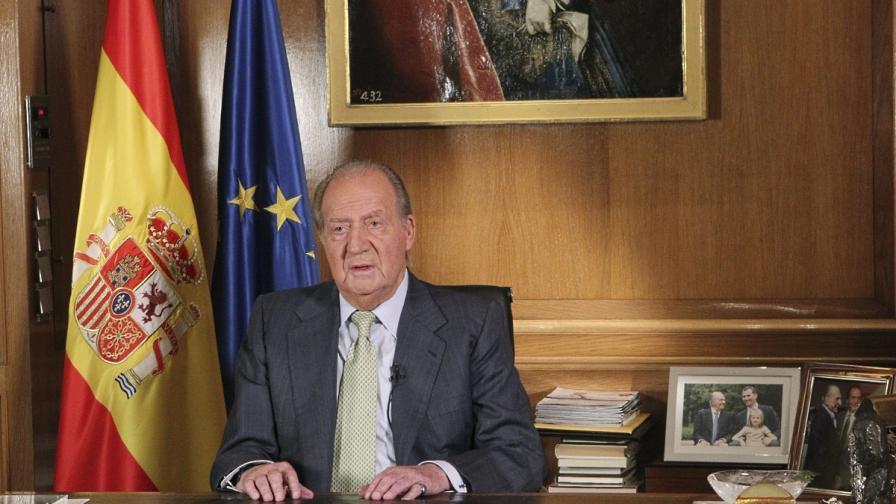 Испанското правителство одобри абдикацията на краля