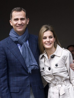 Принц Фелипе и Летисия