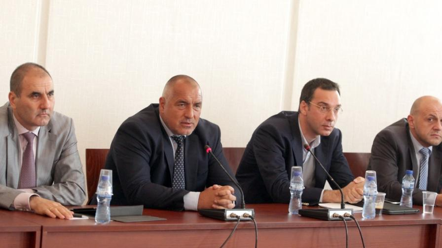 Ръководството на ГЕРБ се срещна с кметовете, подкрепяни от партията